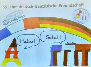 Deutsch-französischer Tag – Insel Schütt Schule