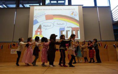 Der Deutsch-Französische Tag an der Grundschule Insel Schütt (2019)